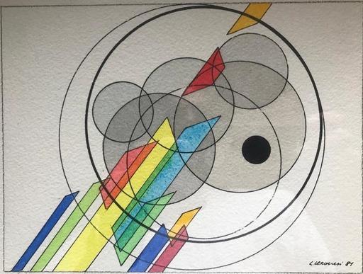 Luigi VERONESI - 水彩作品 - Senza titolo