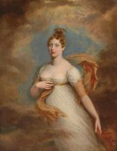 George DAWE - Painting - Princess Charlotte