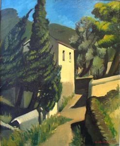 Gregorio SCILTIAN - Pintura - Landscape with house