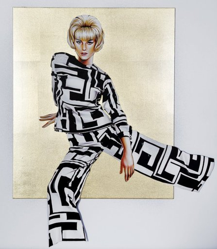 Mel RAMOS - Druckgrafik-Multiple - Golden Pucci Pants