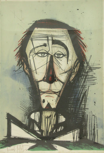 Bernard BUFFET - Stampa Multiplo - Clown
