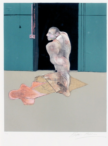 Francis BACON - Print-Multiple - Study for a portrait of John Edwards