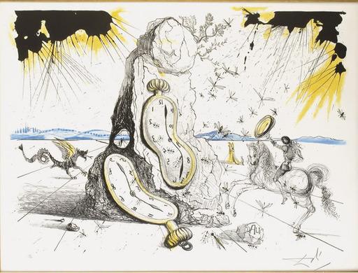 萨尔瓦多·达利 - 版画 - Cosmic Rays