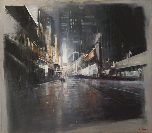 Alexey ALPATOV - Painting - Night