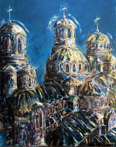 AMEY - Painting - Cathédrale orthodoxe