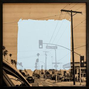 Laurent MINGUET - Painting - L.A. on the roade