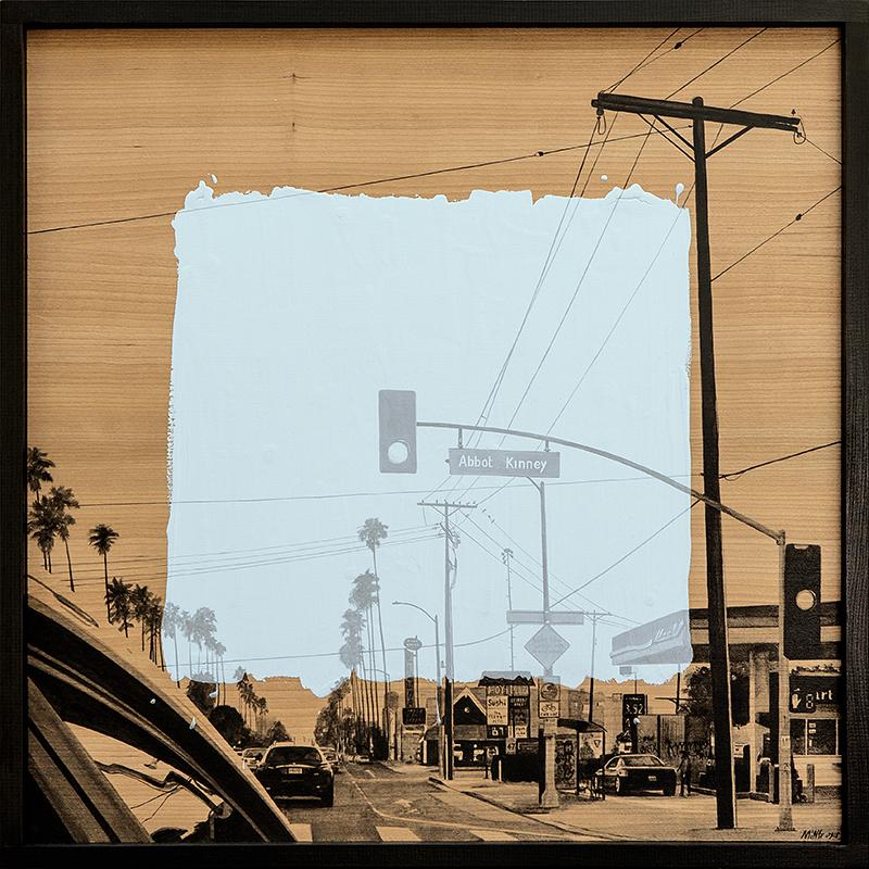 Laurent MINGUET - Pintura - L.A. on the roade