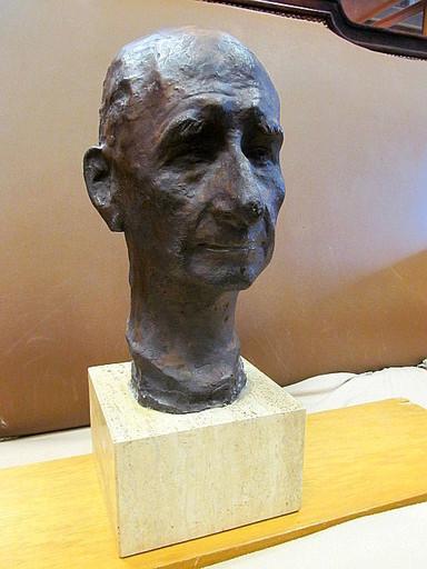 Fritz BEHN - 雕塑 - Selbstbildnis