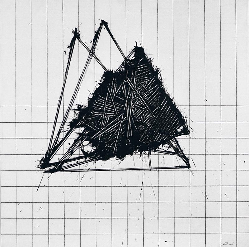 Emilio SCANAVINO - Gemälde - I triangoli