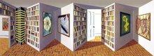 Patrick HUGHES - Estampe-Multiple - Art Apartment