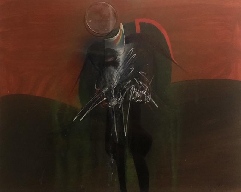 Sergio DANGELO - Painting - Indenne
