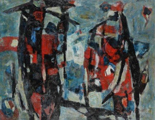 Willem BOON - Pintura - Abstrakt