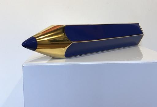 Giorgio LAVERI - Ceramic - Crayon bleu