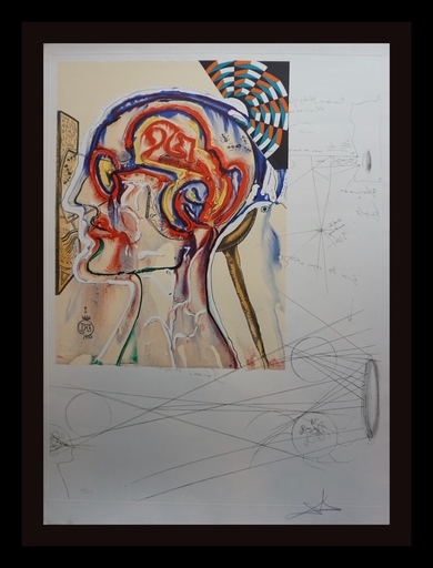Salvador DALI - Grabado - Imaginations & Objects  the Future Spectacles Holograms & C