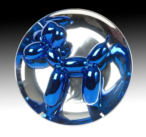 Jeff KOONS - Scultura Volume - Balloon Dog blue