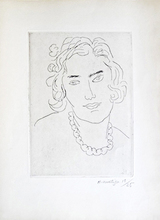 Henri MATISSE (1869-1954) - Le Grand Collier