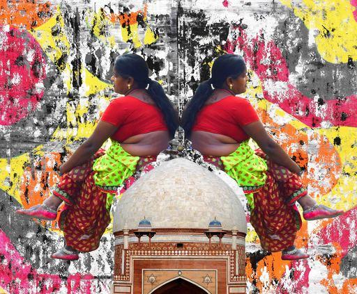 Sumit MEHNDIRATTA - Painting - Monumental