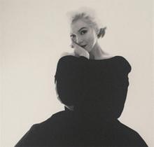 Bert STERN - Photography - Marilyn Rare Black Dress Large