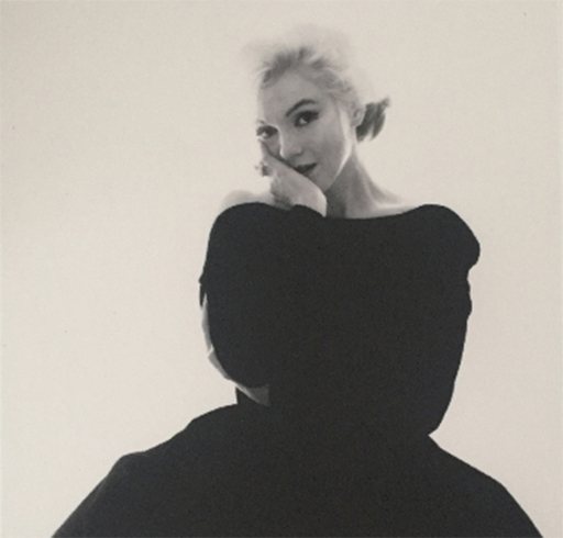 Bert STERN - Photography - Marilyn Rare Black Dress Large