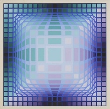 Victor VASARELY (1906-1997) - Composition cinétique