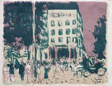 Pierre BONNARD - Print-Multiple - Les boulevards