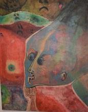 Omar DE LEON - Pintura - Sin titulo