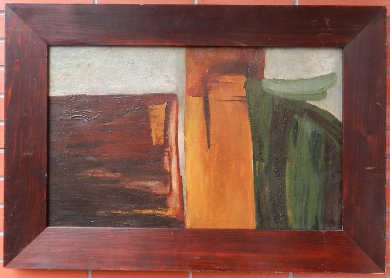 Milan PASTEKA - Painting - Untitled