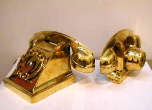Fernandez ARMAN - Sculpture-Volume - Téléphones