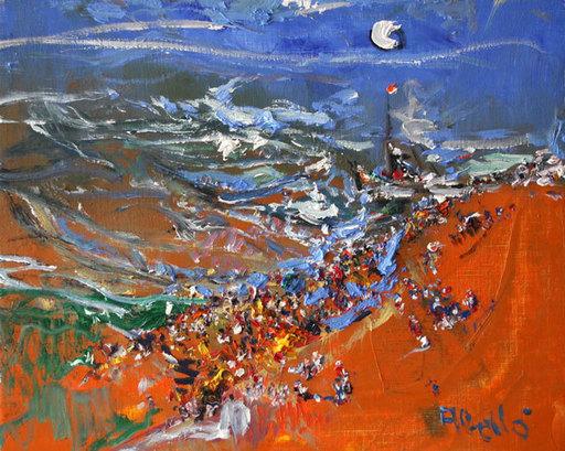 Juan ABELLO PRAT - Gemälde - Estudi