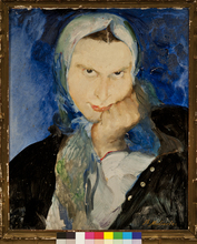 Filip Andreevic MALJAVIN - Painting - Baba