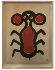 Albert CHUBAC - Disegno Acquarello - 200 Z