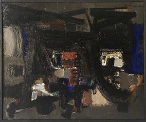John Harrison LEVEE - Painting - Abstract Composition