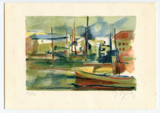 Marcel MOULY - Print-Multiple - LITHOGRAPHIE 1984 SIGNÉE CRAYON NUM150 HANDSIGNED LITHOGRAPH