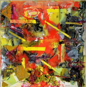 Alexandre ISTRATI - Peinture - Composition