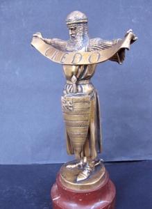 Emmanuel FRÉMIET - Escultura - Chevalier en Terre Sainte