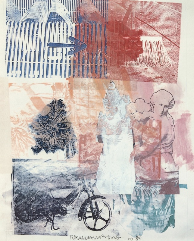 Robert RAUSCHENBERG - Estampe-Multiple - Untitled (Arrow)