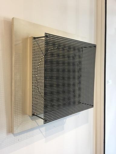 Antonio ASIS - Peinture - Vibration sur sphère noire