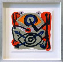 A.R. PENCK - Grabado - Eye-to-Eye