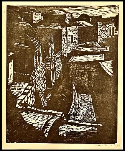 Jakob STEINHARDT - Druckgrafik-Multiple - Jerusalem