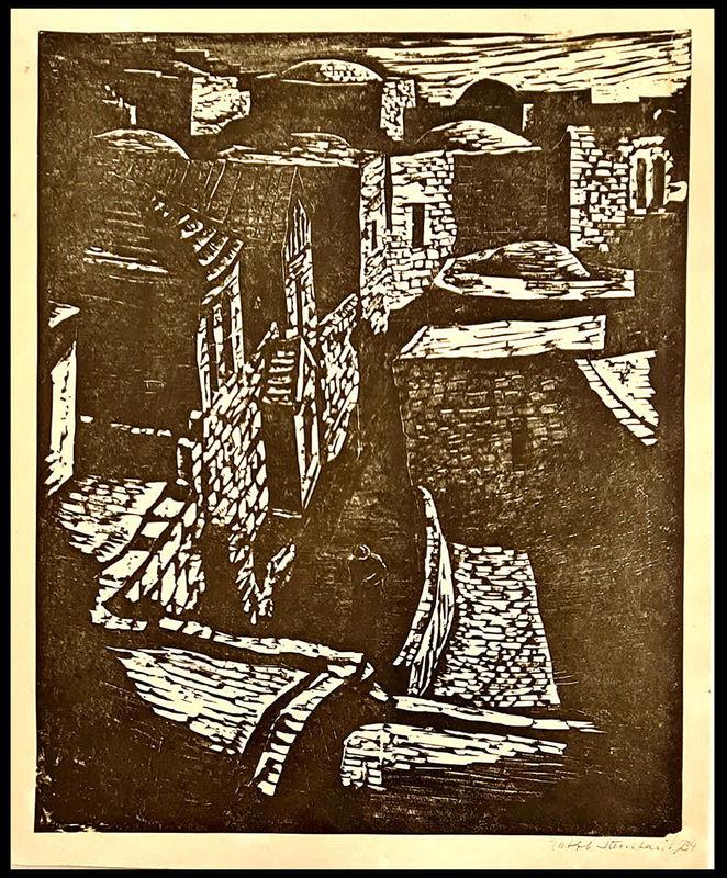 Jakob STEINHARDT - Stampa-Multiplo - Jerusalem