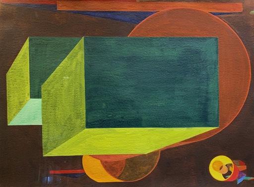 Al HELD - Painting - Camerata XI