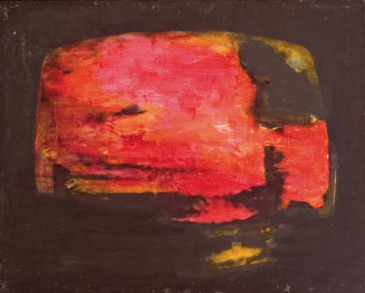 Mario SCHIFANO - Painting - Paesaggio Tv