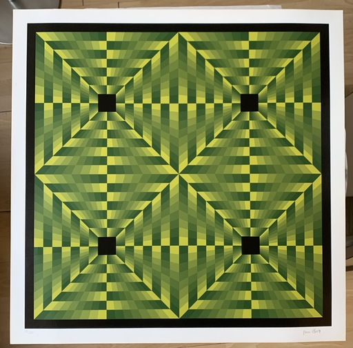 Jim BIRD - Print-Multiple - Jim Bird - tribute to Vasarely 16
