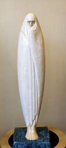 Céline LEPAGE - Sculpture-Volume - Femme voilée de Marrakech