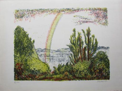 埃里希·黑克尔 - 版画 - Regenbogen