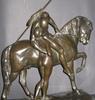 Erich SCHMIDT-KESTNER - Escultura - Les adieux d'Alexandre