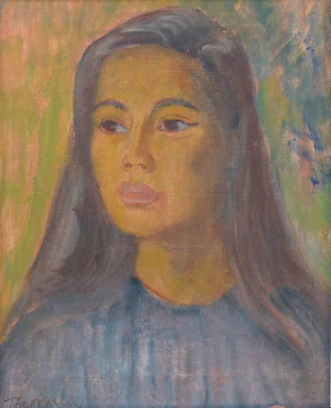 Theo MEIER - Gemälde - Jett Li