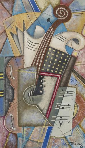 Georges TERZIAN - Peinture - Triples feuilles