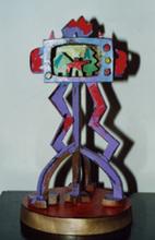 Ugo NESPOLO - Escultura - La televione