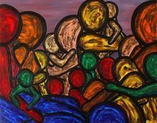 Francesco RUSPOLI - Painting - In the sun    (Cat N° 5397)